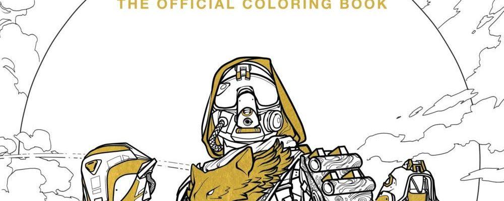 Das Malbuch für Destiny erscheint nächste Woche – 96 Seiten Kreativität