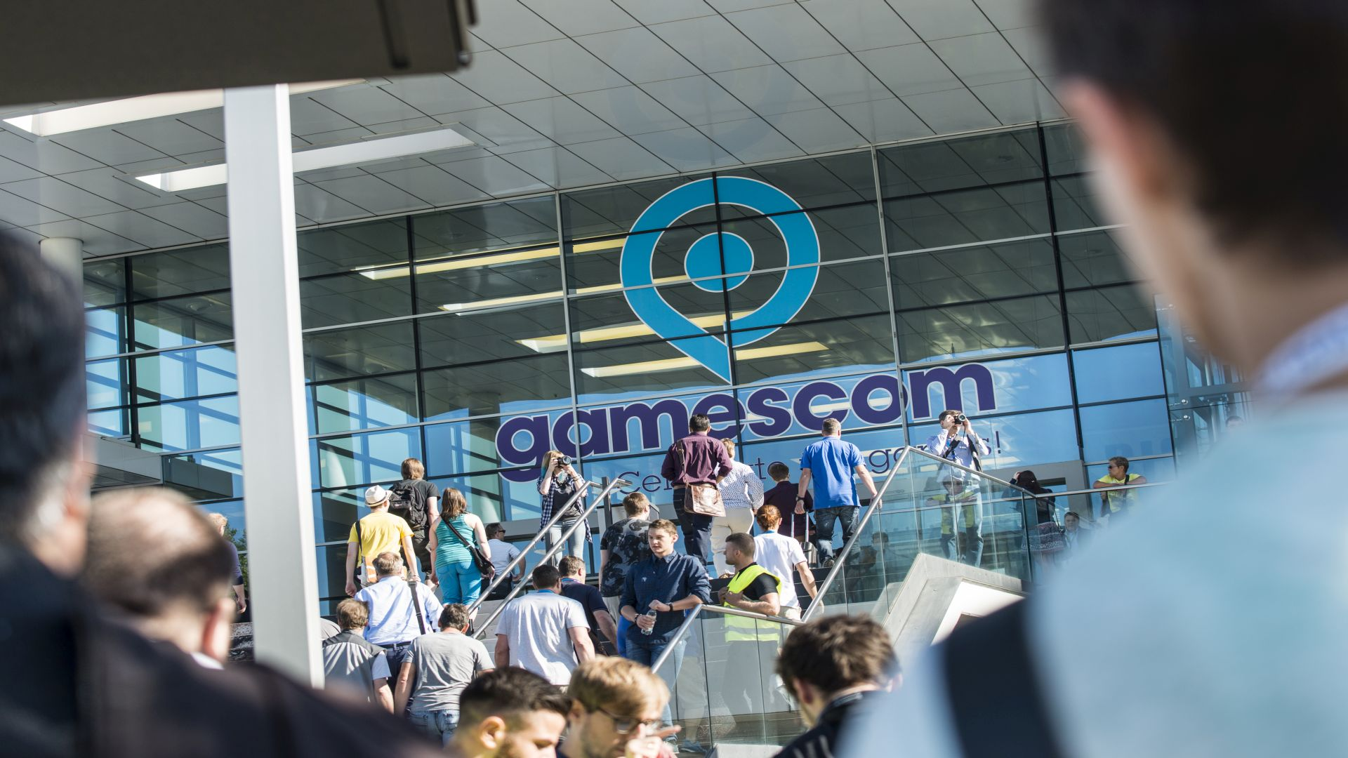 Gamescom Eingang Süd