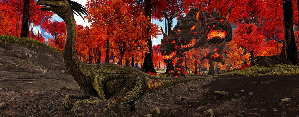 ARK zeigt neue, gesponserte Mod – Dragonpunk: Tribe of Gods – Trailer