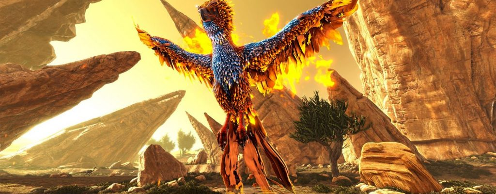 ark ragnarok phoenix