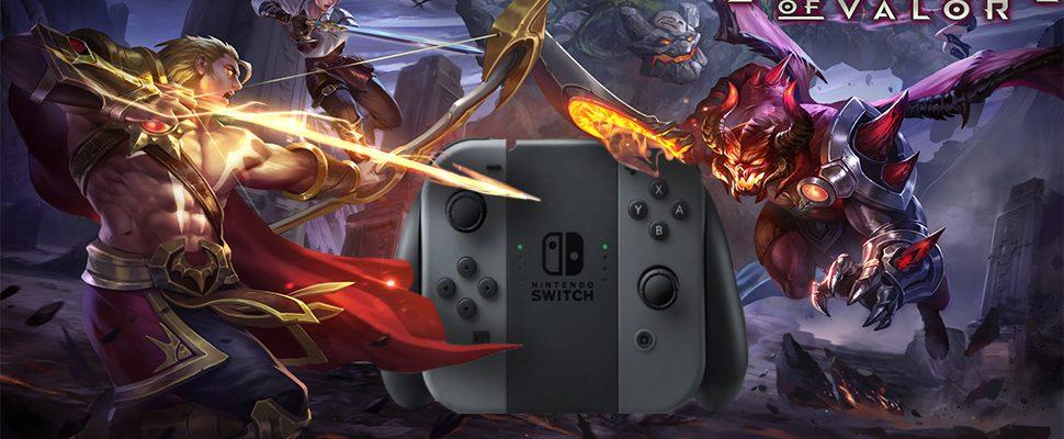 Nintendo Switch kriegt das MOBA, nach dem Kids in China süchtig sind
