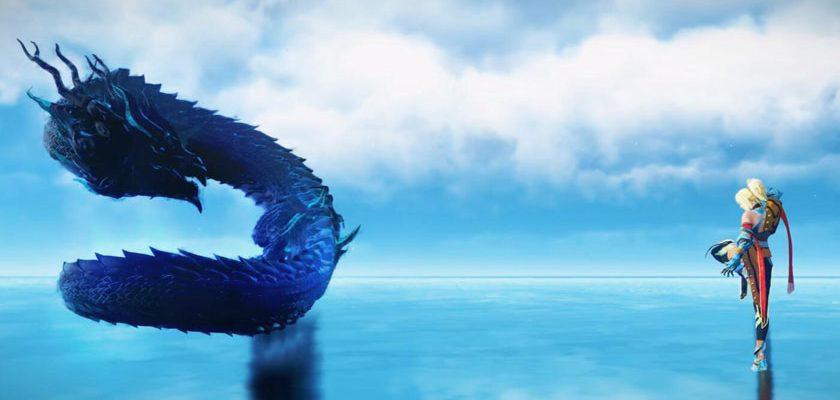 Black Desert: Mystic Awakening ist ein riesiger Blauer Drache!