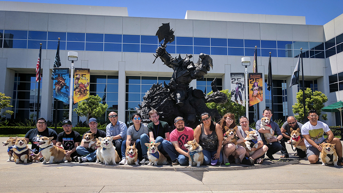Blizzard Corgi Armee