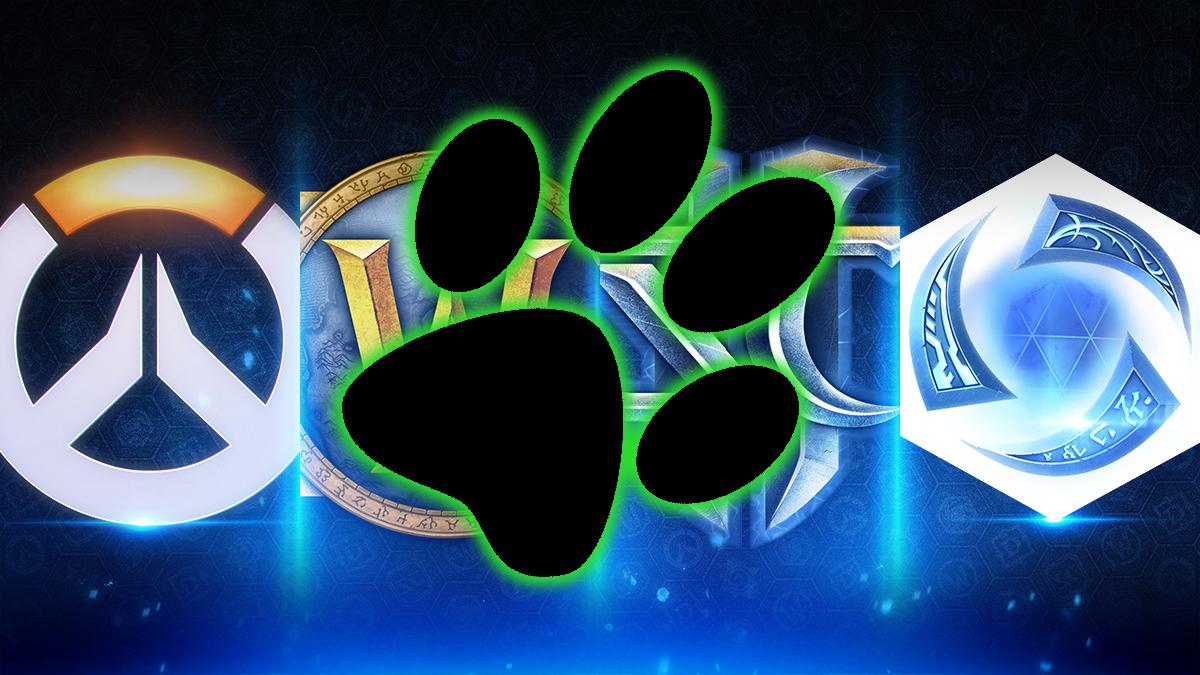 Blizzard Logo Pfote