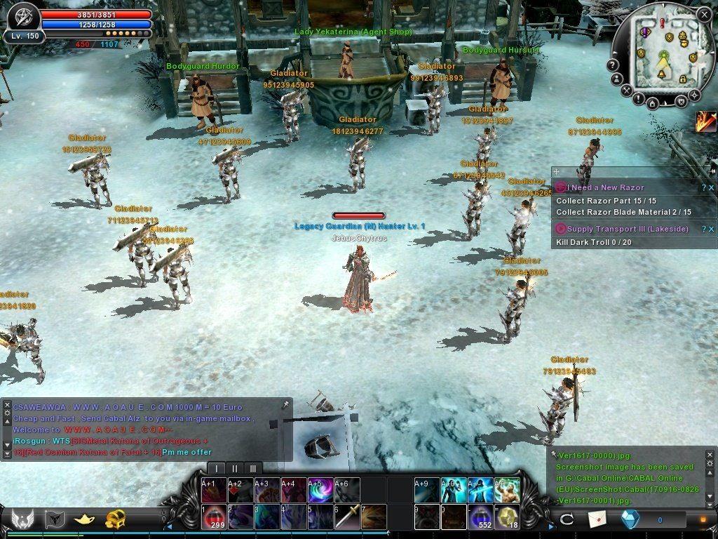 Cabal Online Bots