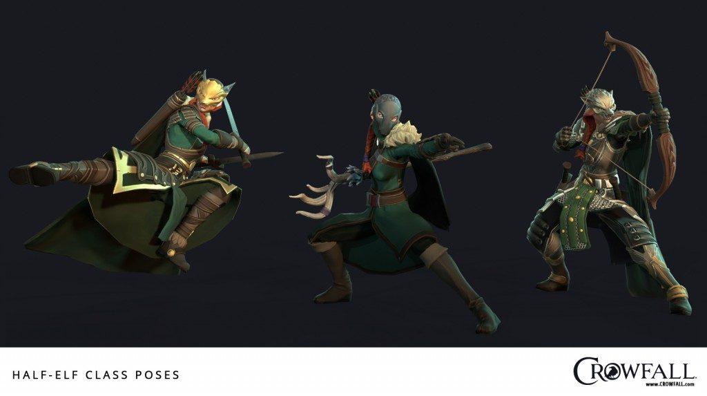 Crowfall Halb Elf 2