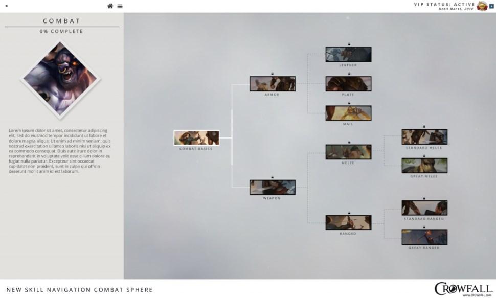 Crowfall Skill UI