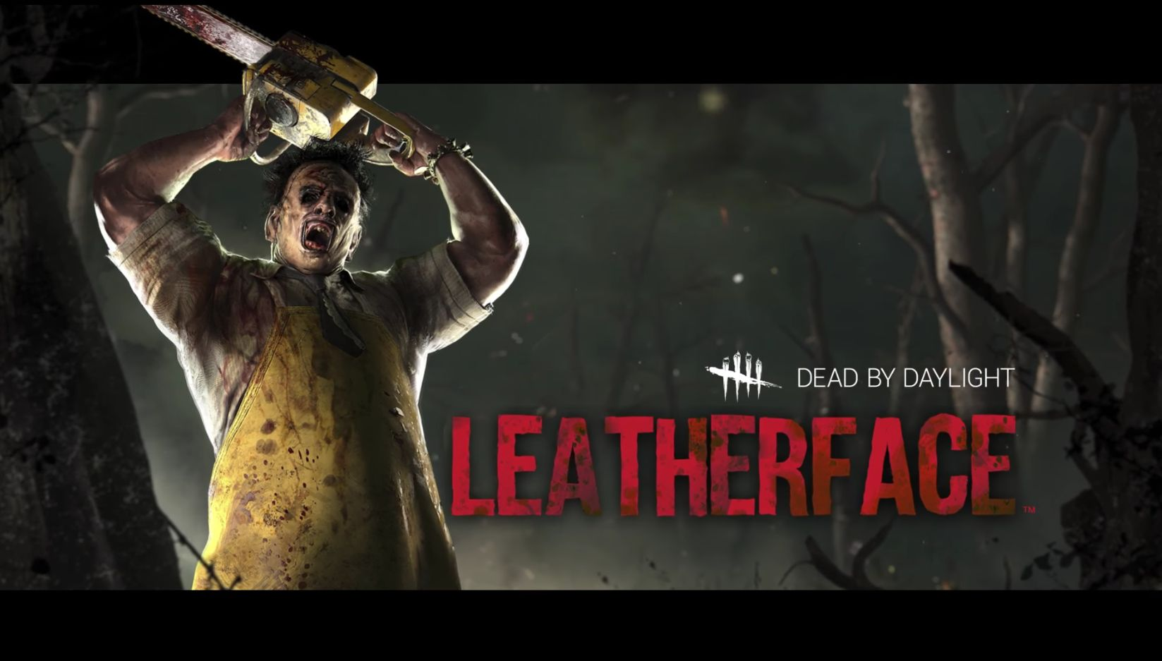 Dead by Daylight Leatherface title