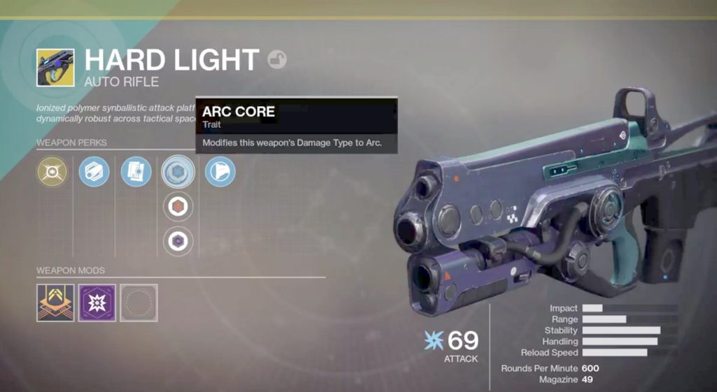 Destiny 2 Hartes Licht Hard Light