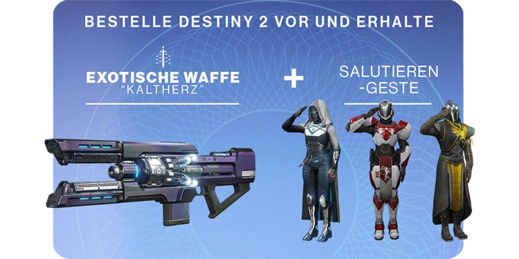 Destiny 2 Vorbesteller Boni