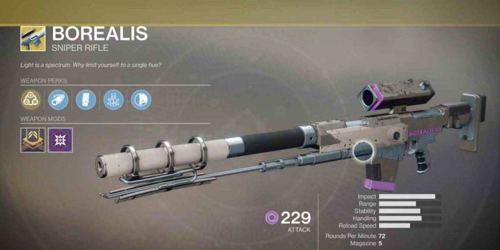 Destiny 2 Waffe Borealis