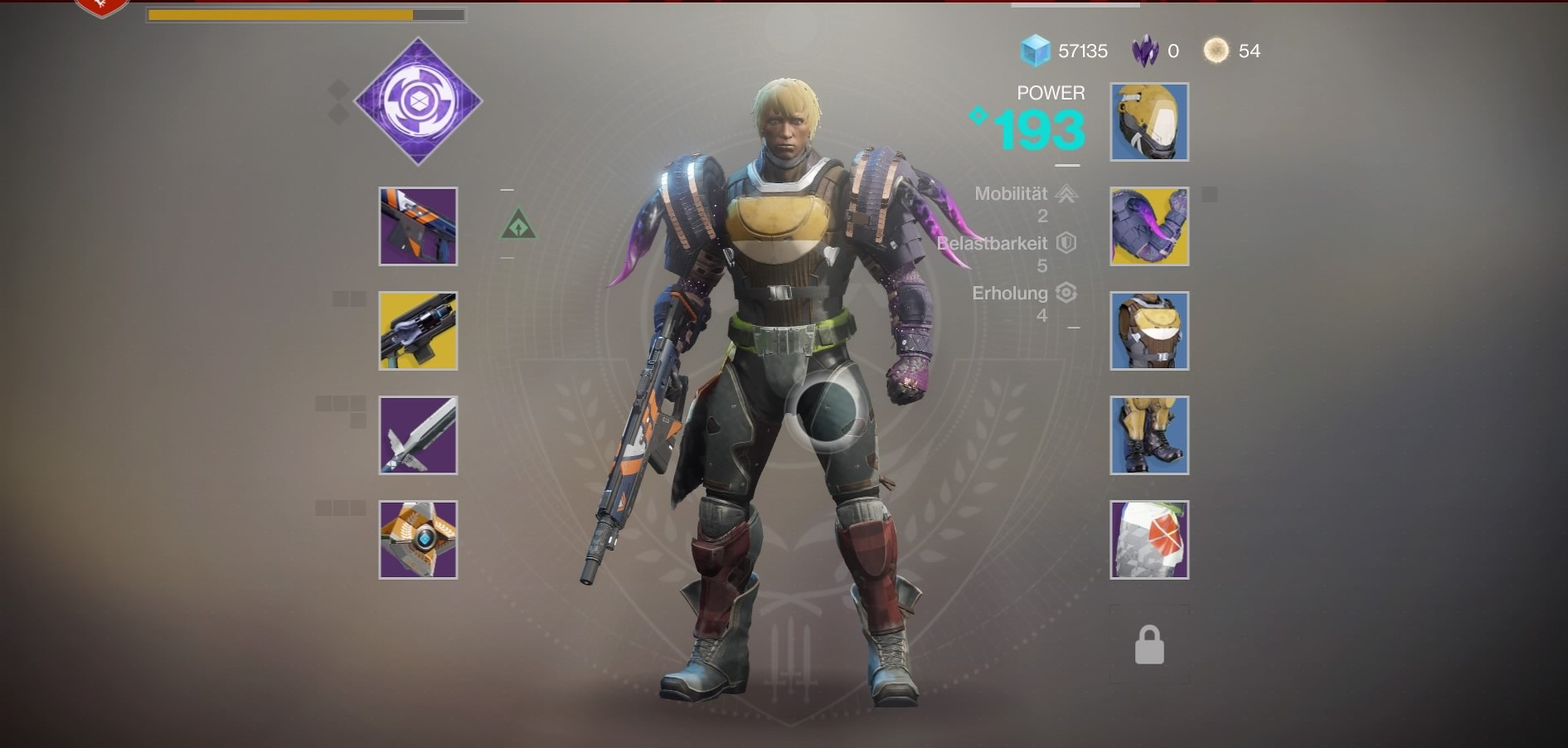 Destiny  Build Hunter