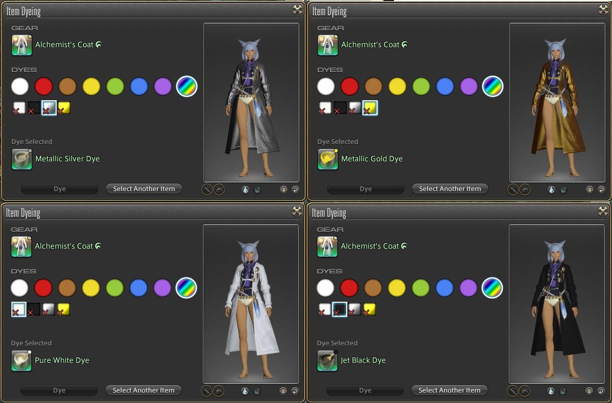 FF14 Dyes