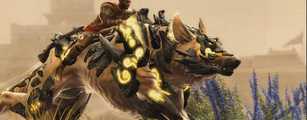 Guild Wars 2 bekommt exotische Premium-Mounts im Mumien-Look