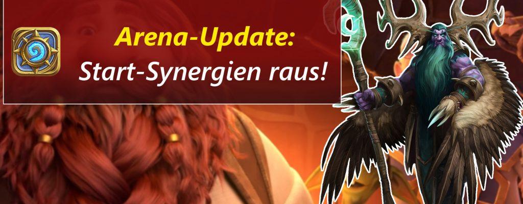 """Hearthstone: Arena wird erneut überarbeitet – keine """"Zwang""""-Synergie!"""