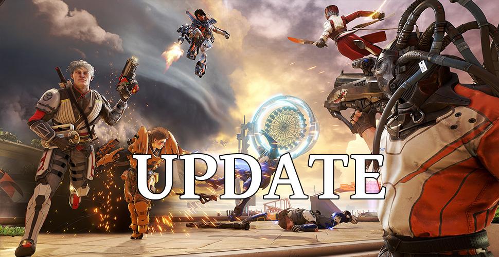 LawBreakers Update Titel
