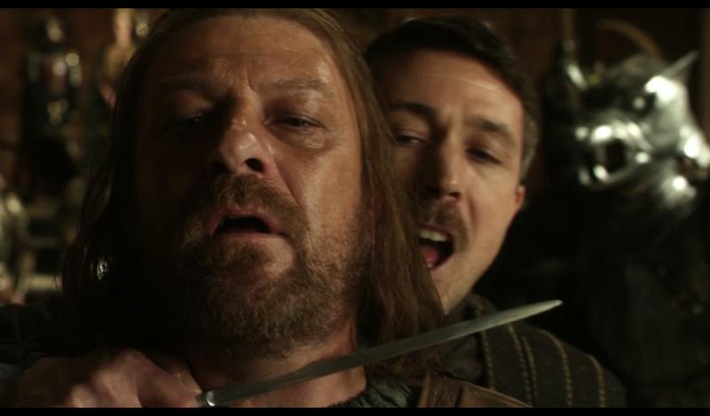 Littlefinger Ned Stark