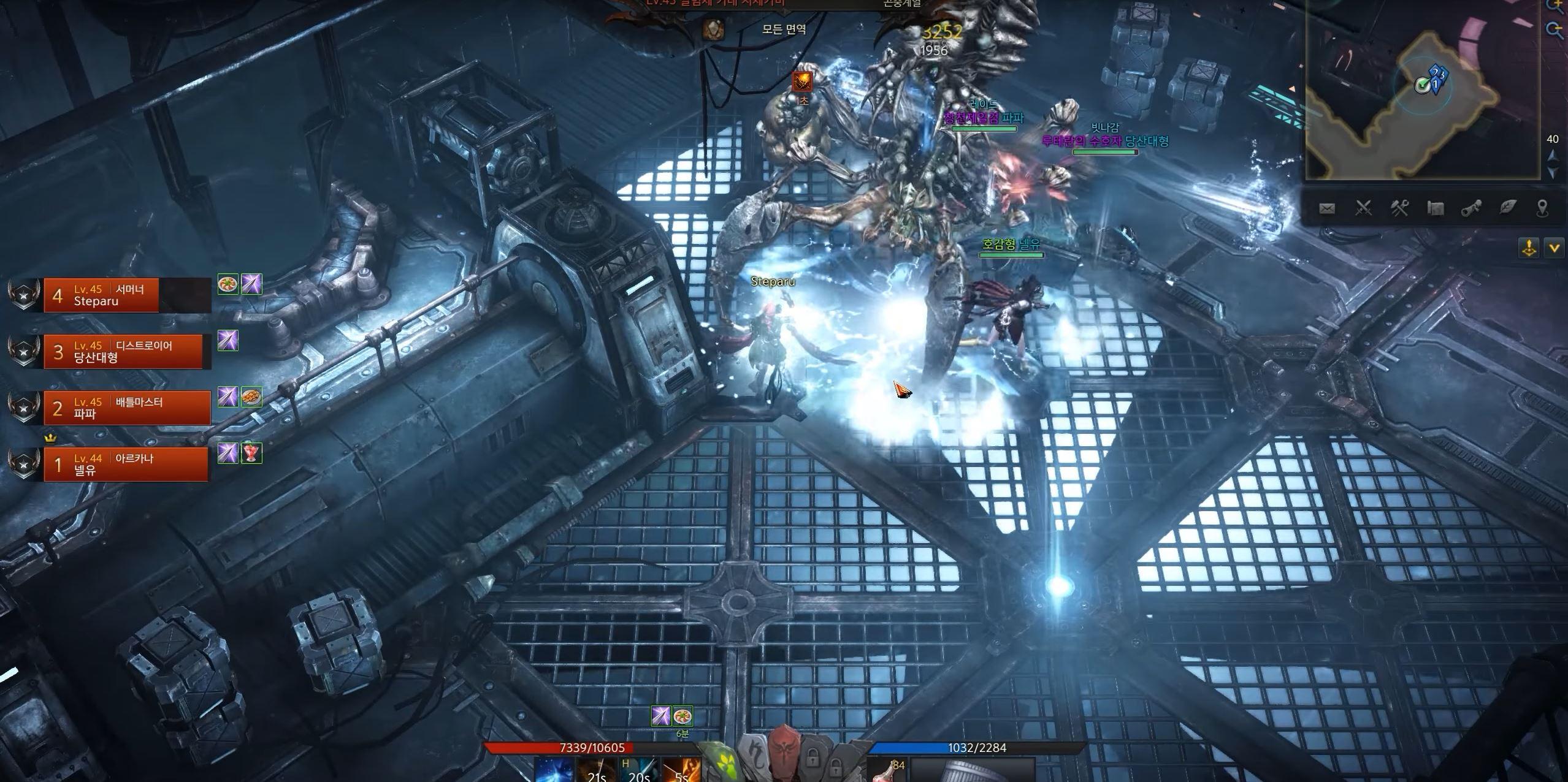 Lost Ark steampunk dungeon 01