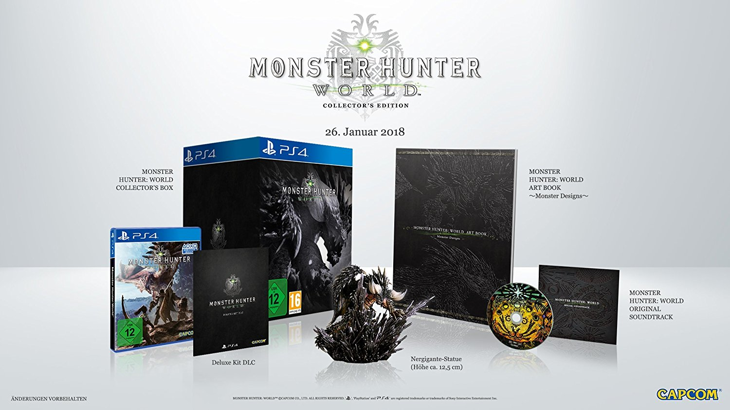 MHW-Collector's Edition
