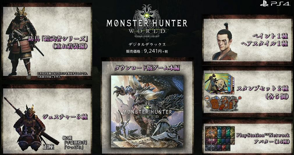 Monster Hunter World Digital Deluxe