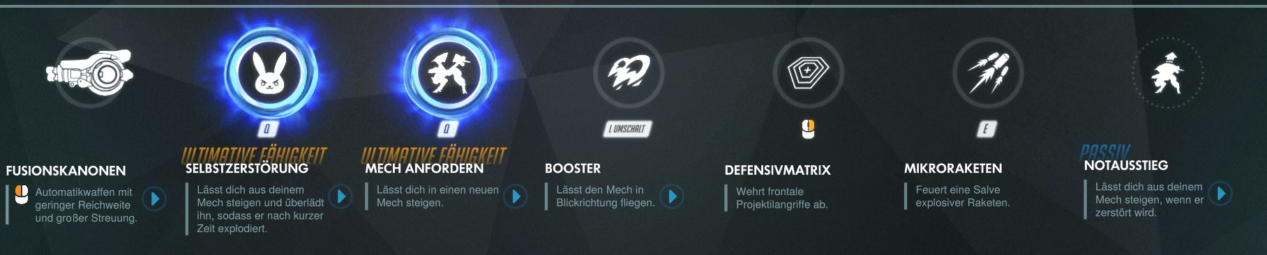 Overwatch Dva Rework Abilities