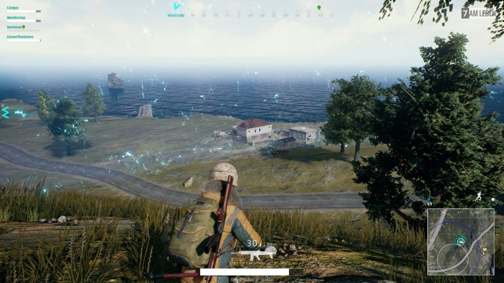 PUBG Erangel Map Screenshot Gameplay