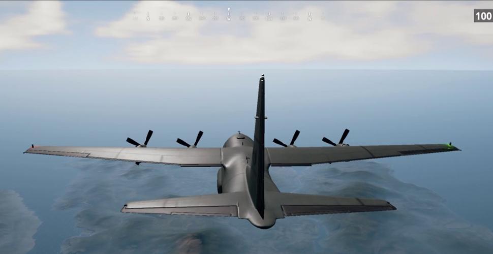 PUBG Flugzeug