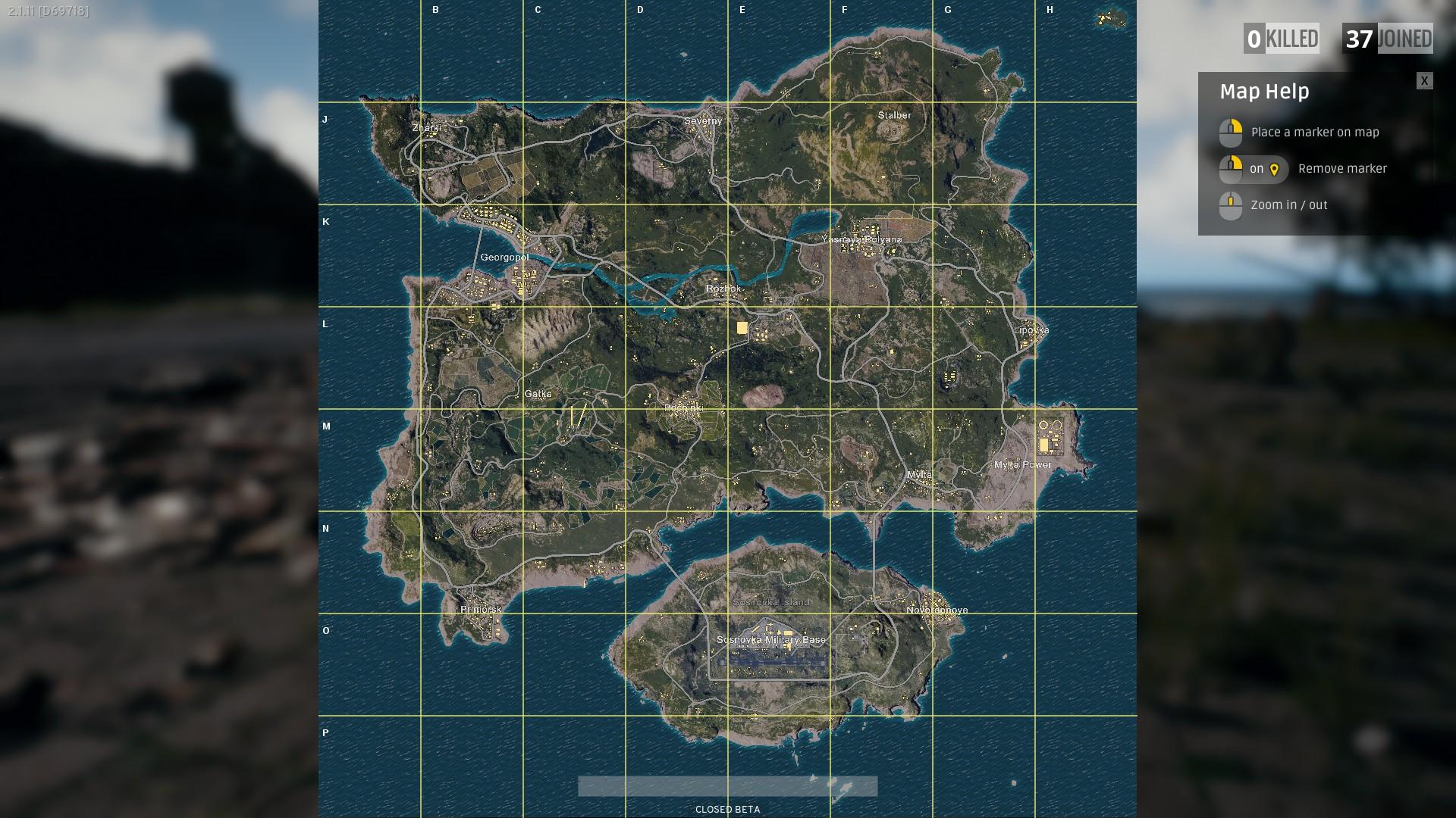 PUBG Map