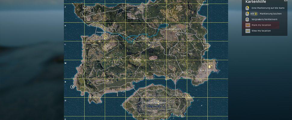 pubg karte PUBG: Loot Map – So findet ihr die besten Waffen in Battlegrounds!