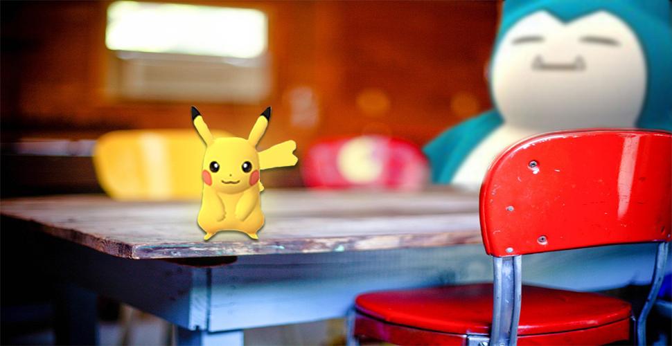 Pokémon GO AR Küchentisch