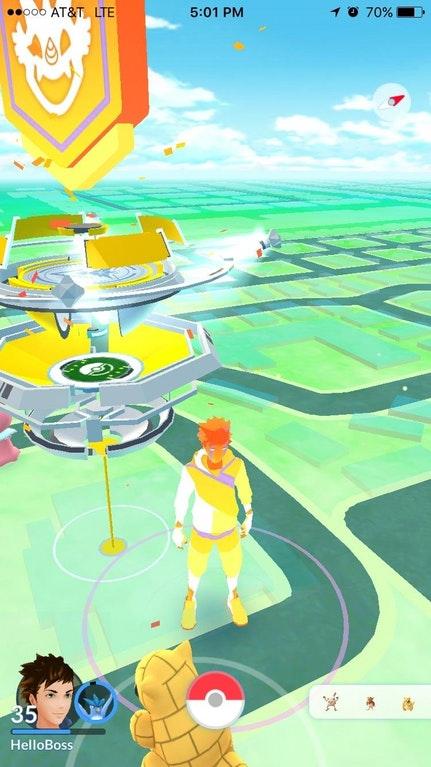 Pokémon GO Avatar Glitch