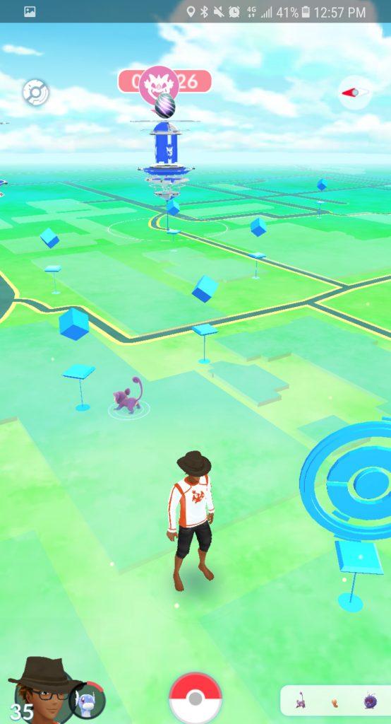 Pokémon GO Raid Anzeige Bug