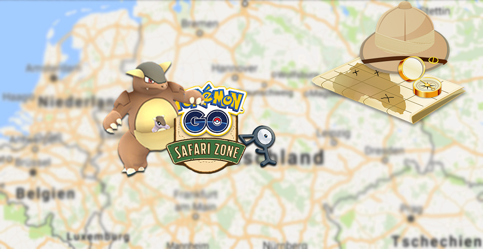 Pokémon GO Safari Zone Titel2