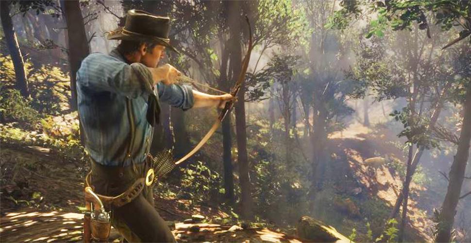 Red Dead Redemption 2 Pfeil und Bogen Titel