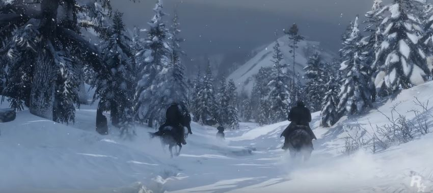 Red Dead Redemption 2 SChnee