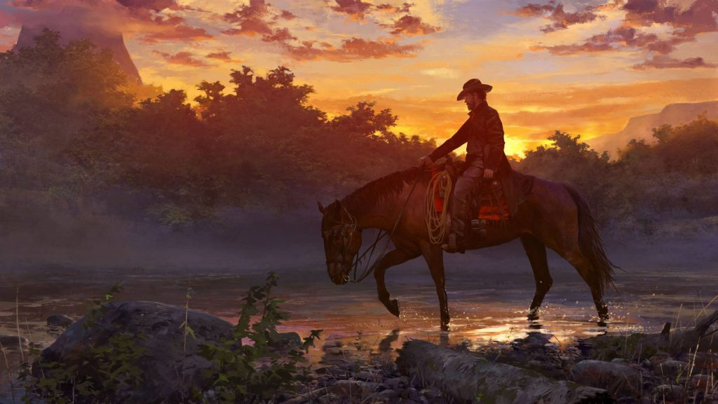 Wild West Online Sunset