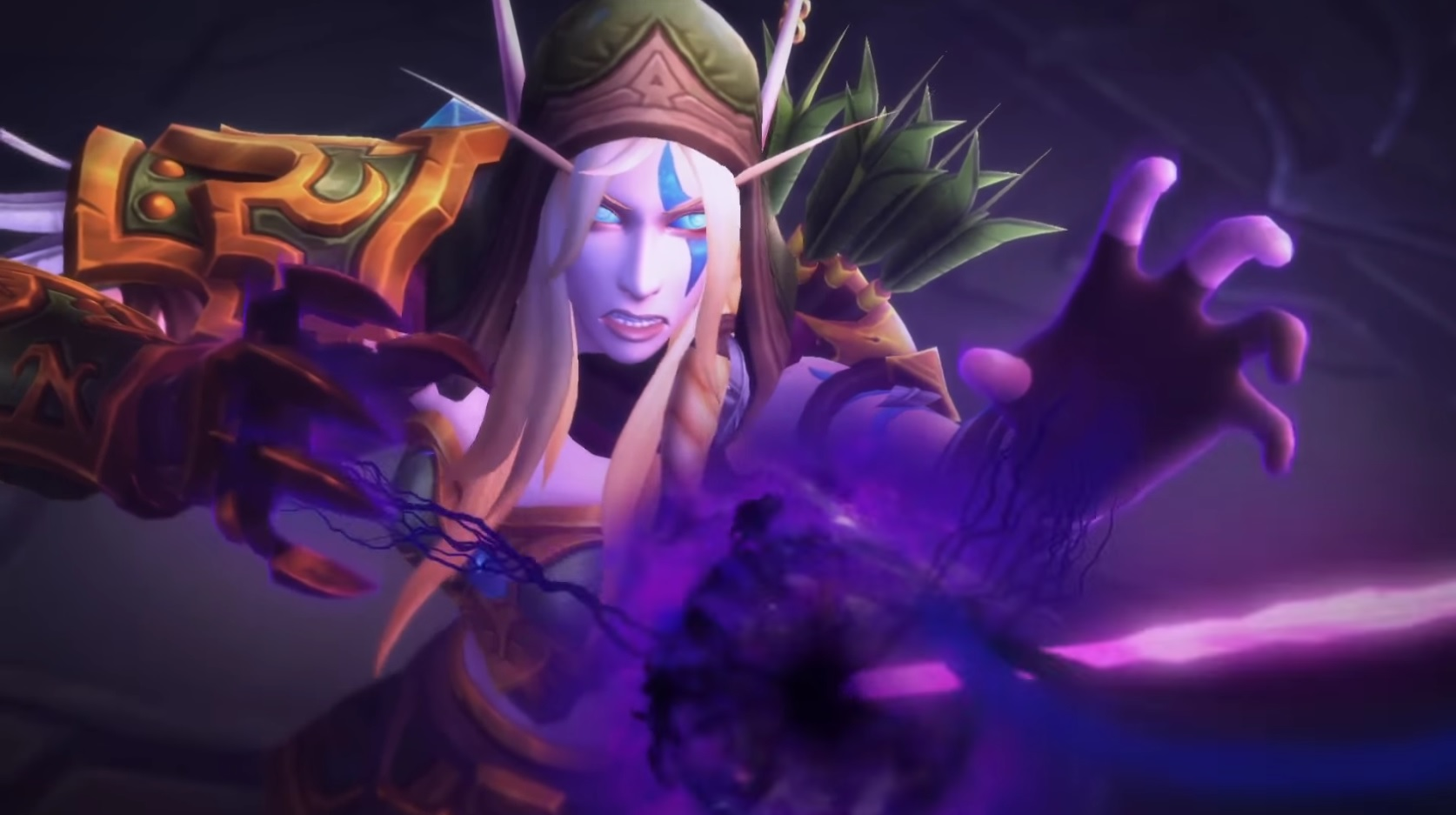 WoW Alleria Drinking the Void