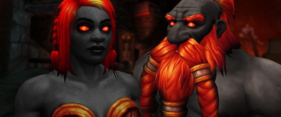 Dunkeleisenzwerge in WoW werden auch Schamanen mit coolen Totems!