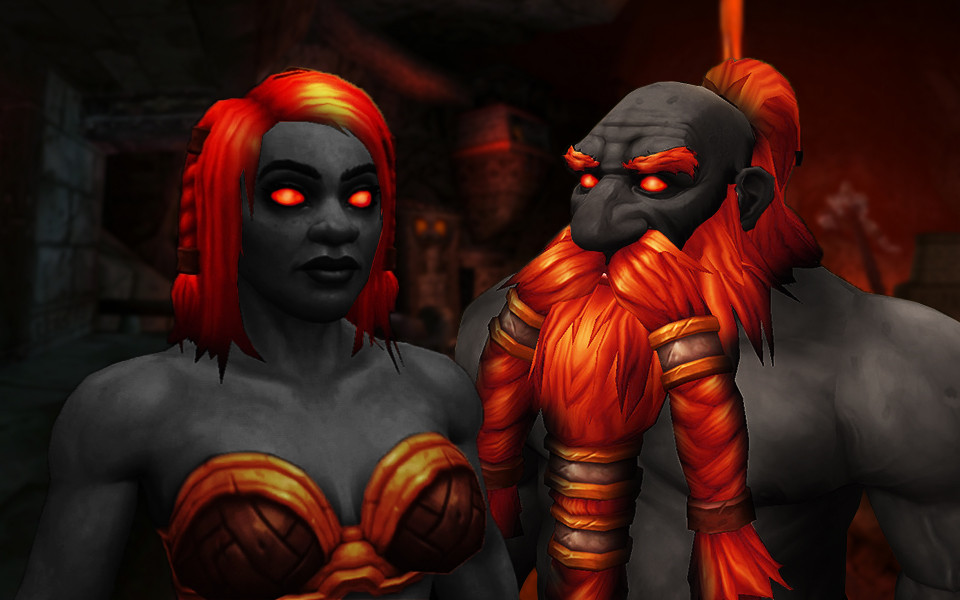 WoW Dark Iron Dwarf