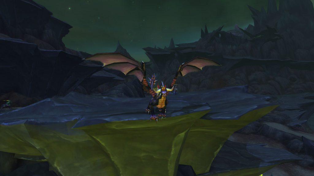 WOrld of WArcraft Argus Onyxian Dragon