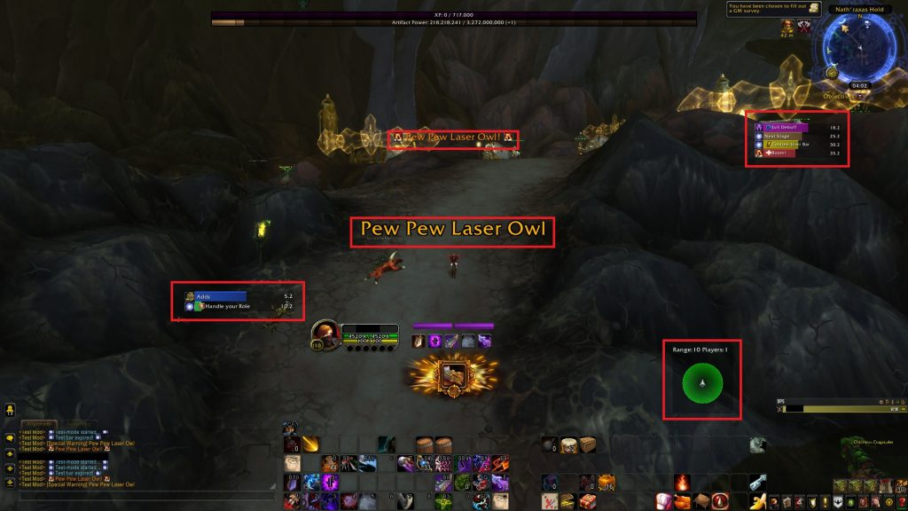 World of Warcraft Addons DBM