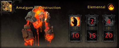 World of Warcraft Argus Pet Amalgam of Destruction