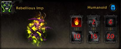 World of Warcraft Argus Pet Rebellious Imp