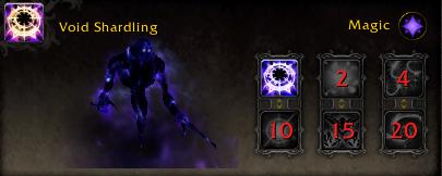 World of Warcraft Argus Pet Void Shardling