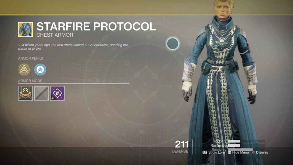 destiny 2 exotic starfire protocol
