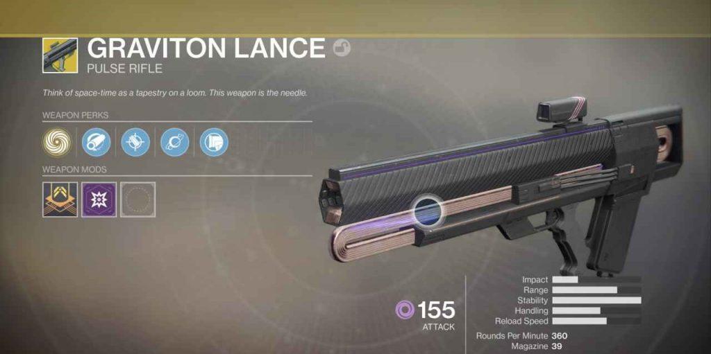 destiny 2 graviton lanze