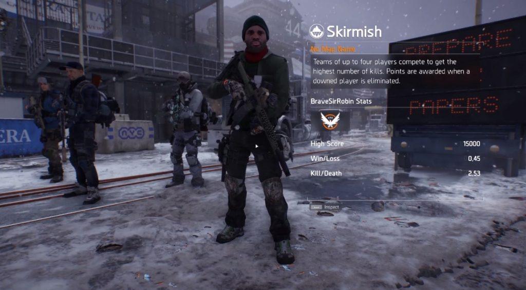 division skirmish