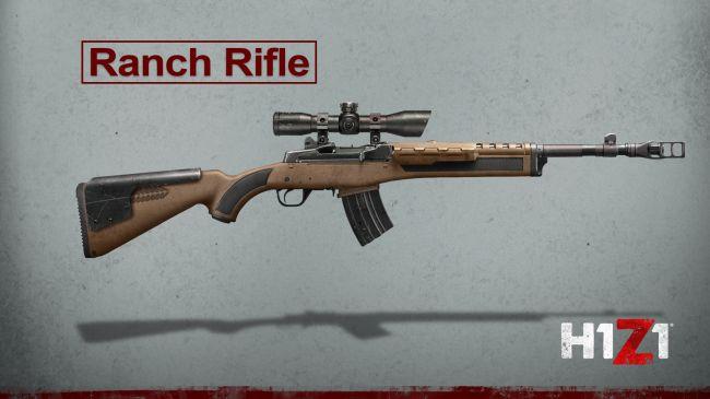 h1z1 ranch rifle