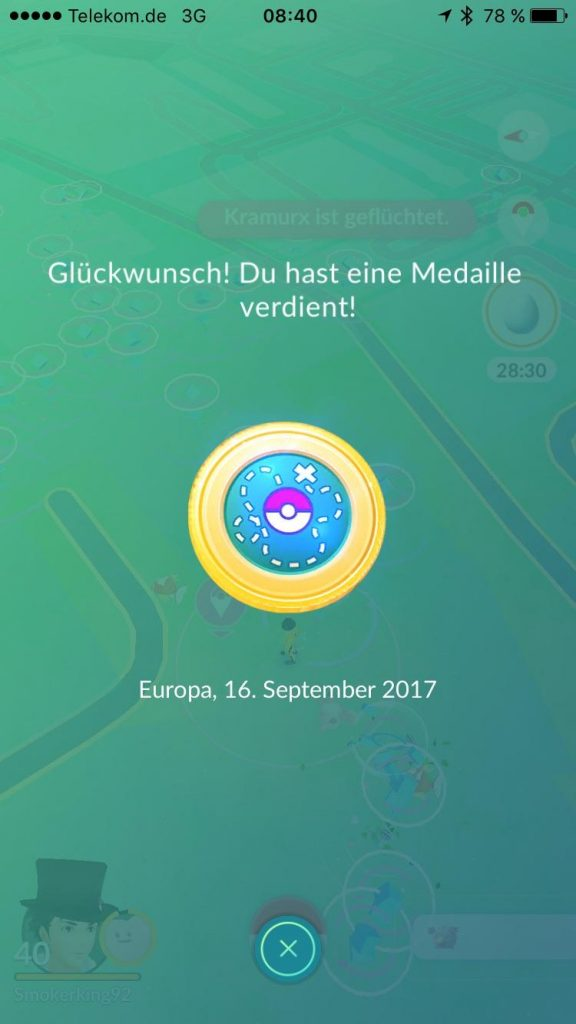 Pokémon GO Medaille Safari