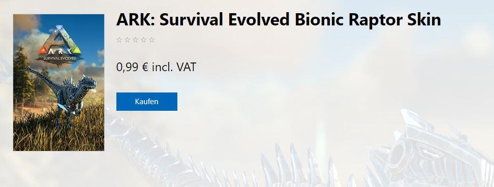 Bionic Raptor Skin